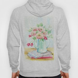 Tulips and French Enamelware Hoody
