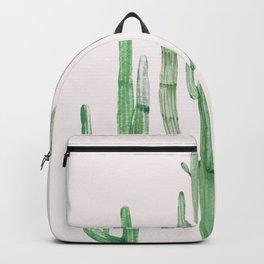 Three Amigos Pink + Green Backpack
