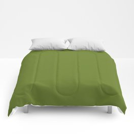 Cheap Solid Fern Green Color Comforters