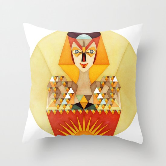 INitiation Throw Pillow