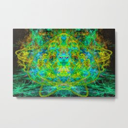 Fire Breather (Vapor Breath) Metal Print
