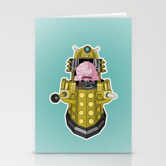 Kralek: Exterminate the Turtles! Stationery Cards