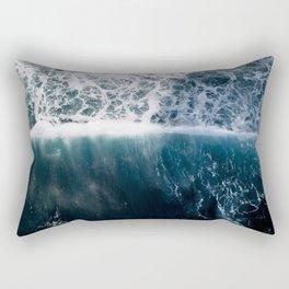 Sun Wave in the Atlantic Ocean - Seascapes Rectangular Pillow