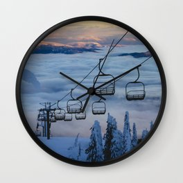 LAST CHAIR Wall Clock
