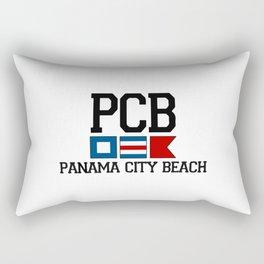 Panama City - Florida. Rectangular Pillow