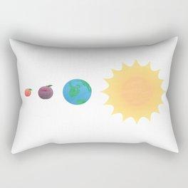 You are my Peach Rectangular Pillow