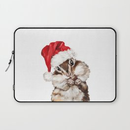 Christmas Squirrel Laptop Sleeve