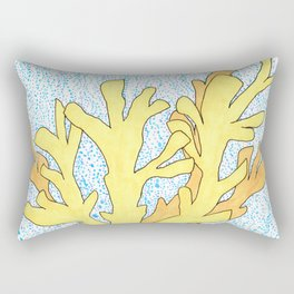 Elkhorn Coral Rectangular Pillow
