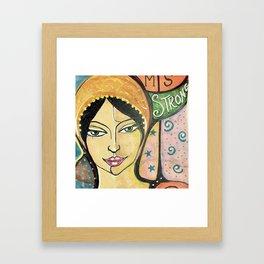 MS STRONG Framed Art Print