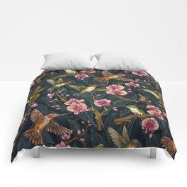 Hummingbird Pattern Comforters