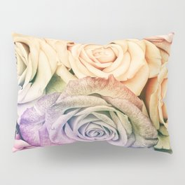 Some people grumble - Colorful Roses - Rose pattern Pillow Sham