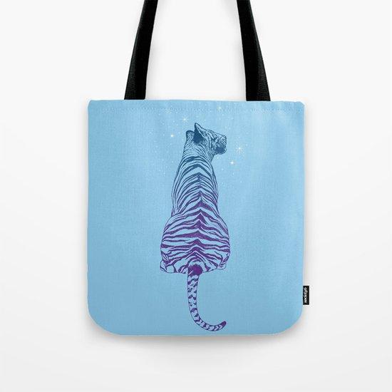 Tiger + Stars Tote Bag
