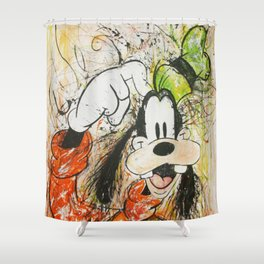 Goofy Shower Curtain