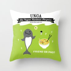 Friend or Pho? Throw Pillow