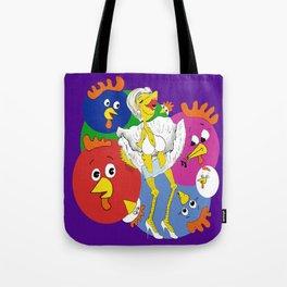 Marilyn Chicken Tote Bag