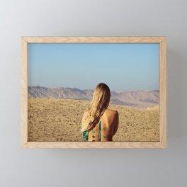 Desert #2 Framed Mini Art Print