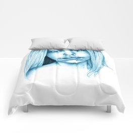 Blue Girl Comforters