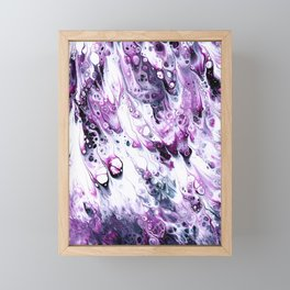 Transmutation Of Purple Framed Mini Art Print