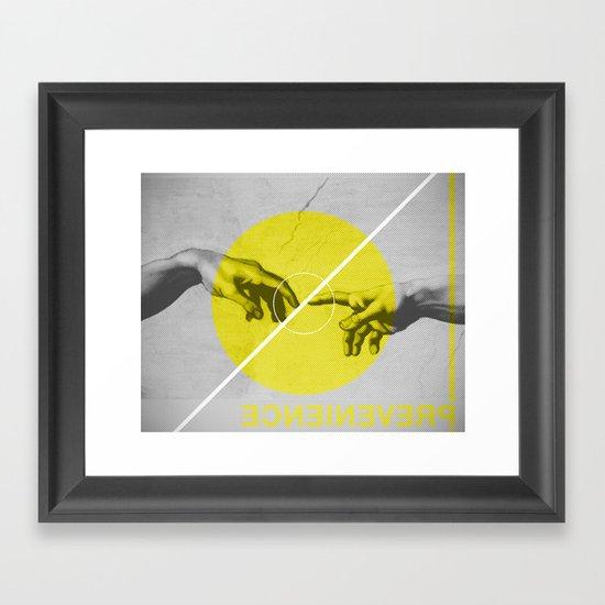 Prevenience Framed Art Print
