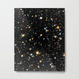 Starry Space Metal Print