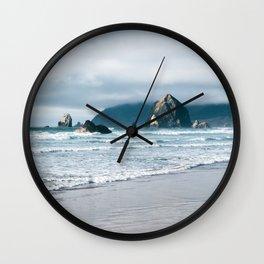 Cannon Beach VIII Wall Clock