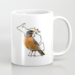 Michigan – American Robin Coffee Mug