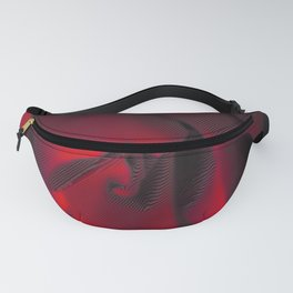 Red Hot Glow Fanny Pack
