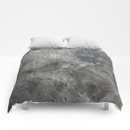 craters on the moon Comforters