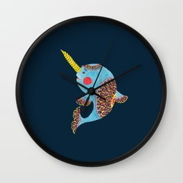 The Narwhal Wall Clock