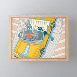 Cruisin, Easyllac 64 Framed Mini Art Print