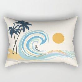 Minimalistic Summer II Rectangular Pillow