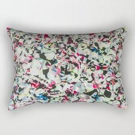 Shopping Mall Mural Rectangular Pillow