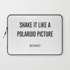 Shake it like a picture Laptop Sleeve