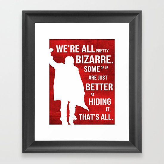 that's all Framed Art Print