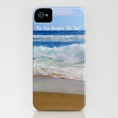 The Sea Beckons The Soul iPhone (4, 4s) Slim Case
