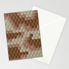 CUBOUFLAGE DESERT Stationery Cards