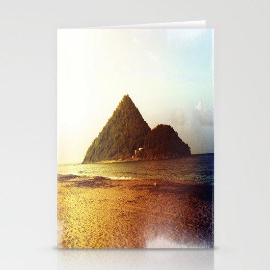 Rainbow Island Stationery Cards