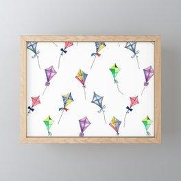 Lets Go Fly A Kite Framed Mini Art Print
