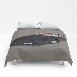 80´s tv and films cars (knight rider) Comforters