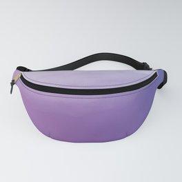 Watercolor (purple) Fanny Pack