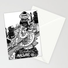 Cookies Machine Stationery Cards