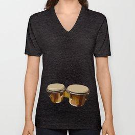 Bongos Drums Unisex V-Neck