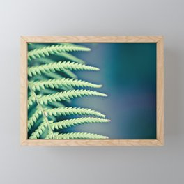 Into the forest Framed Mini Art Print