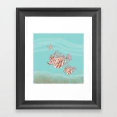 Fish Manchu Framed Art Print