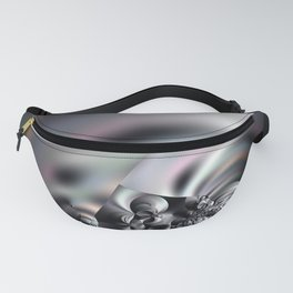 Complexity under smooth simplicity - Abstract play with focus Fanny Pack