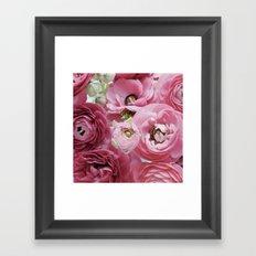 Bloom Sweetly - Rose Pink Framed Art Print