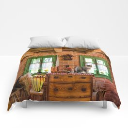Rustic Country Charm by Liane Wright Comforters