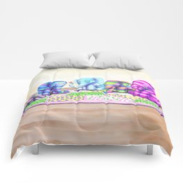 Elephant's Brunch Comforters