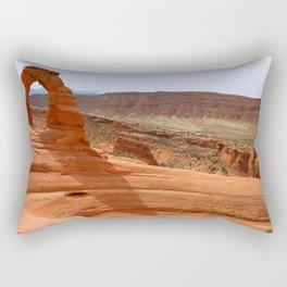 Delicate Arch A Famous Landmark Rectangular Pillow