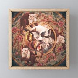 Capuchin Vanitas Framed Mini Art Print